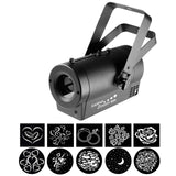 Chauvet DJ GOBOZOOM-USB 25 watt LED Gobo Projector USB Compatible - Macsound Electronics & Theatrical Supplies