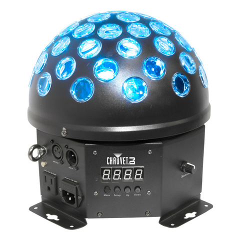 Chauvet DJ HEMISPHERE5.1 180 Degree Mirror Ball DJ Effect - Macsound Electronics & Theatrical Supplies