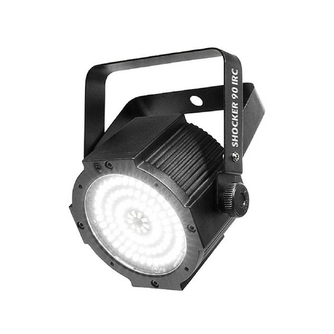 Chauvet DJ SHOCKER90IRC 90 x SMD LED Strobe Light - Macsound Electronics & Theatrical Supplies