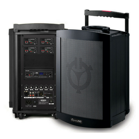 Chiayo CHALLENGER 150w Portable PA System with built-in Bluetooth/SD/USB Player Recorder - Macsound Electronics & Theatrical Supplies