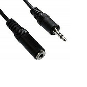 Daichi AL728 Stereo Audio Extension Lead 3.5mm Plug to 3.5mm Socket 5m - Macsound Electronics & Theatrical Supplies