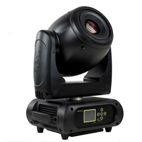 Event Lighting M1S150W High Output 150w LED Spot Moving Head - Macsound Electronics & Theatrical Supplies