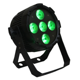 Event Lighting PARRGBW5X8 LED Par Light 5 x 8w RGBW - Macsound Electronics & Theatrical Supplies
