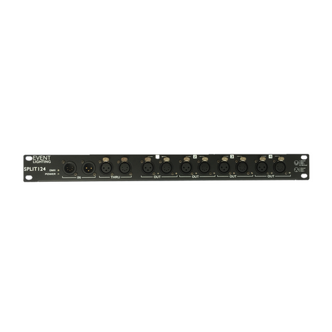 Event Lighting SPLIT124 4 Way DMX Splitter