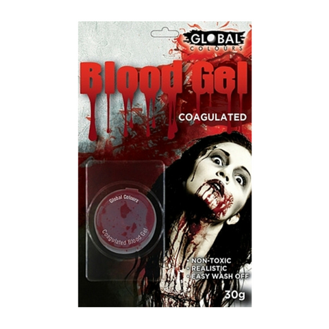 Global Colours BodyArt Coagulated Blood Gel 30g - Macsound Electronics & Theatrical Supplies