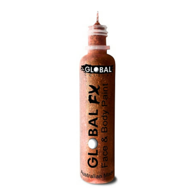 Global Colours BodyArt Global FX 32ml - Copper - Macsound Electronics & Theatrical Supplies