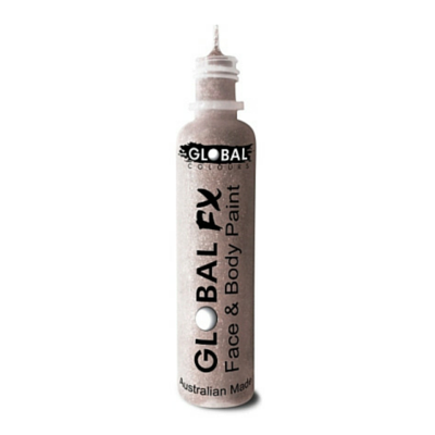 Global Colours BodyArt Global FX 32ml - Crystal White - Macsound Electronics & Theatrical Supplies