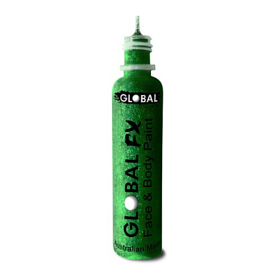 Global Colours BodyArt Global FX 32ml - Emerald Green - Macsound Electronics & Theatrical Supplies