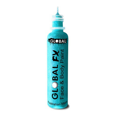 Global Colours BodyArt Global FX 32ml - Iridescent Blue - Macsound Electronics & Theatrical Supplies