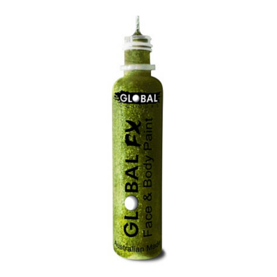 Global Colours BodyArt Global FX 32ml - Lime Green - Macsound Electronics & Theatrical Supplies