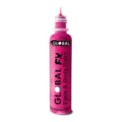 Global Colours BodyArt Global FX 32ml - Rose - Macsound Electronics & Theatrical Supplies