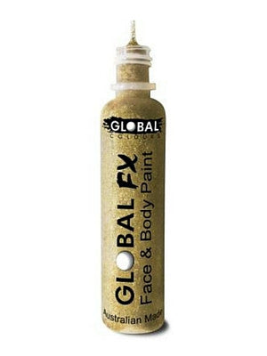 Global Colours BodyArt Global FX 32ml - Soft Gold - Macsound Electronics & Theatrical Supplies