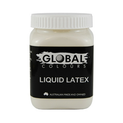 Global Colours BodyArt Liquid Latex 200ml - Macsound Electronics & Theatrical Supplies