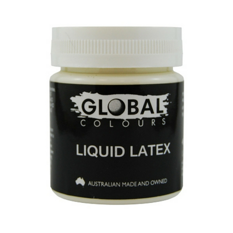 Global Colours BodyArt Liquid Latex 45ml - Macsound Electronics & Theatrical Supplies