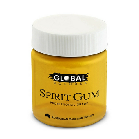 Global Colours BodyArt Spirit Gum 45ml - Macsound Electronics & Theatrical Supplies