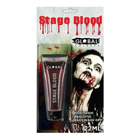 Global Colours BodyArt Stage Blood 22ml - Macsound Electronics & Theatrical Supplies