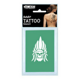 Global Colours BodyArt Temporary Tattoo Stencils - Macsound Electronics & Theatrical Supplies