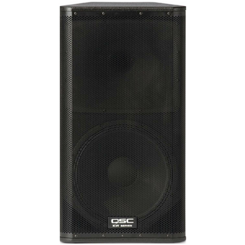 "QSC KW152 2-Way 15"" Powered PA Speaker - Macsound Electronics & Theatrical Supplies"