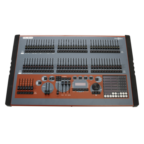 LSC maXim LP 72 faders, 1024 DMX Channel Console with PaTPad, MIDI, VGA and USB. - Macsound Electronics & Theatrical Supplies
