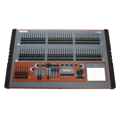 LSC maXim L 72 faders, 1024 DMX Channel Console with MIDI, VGA and USB. - Macsound Electronics & Theatrical Supplies