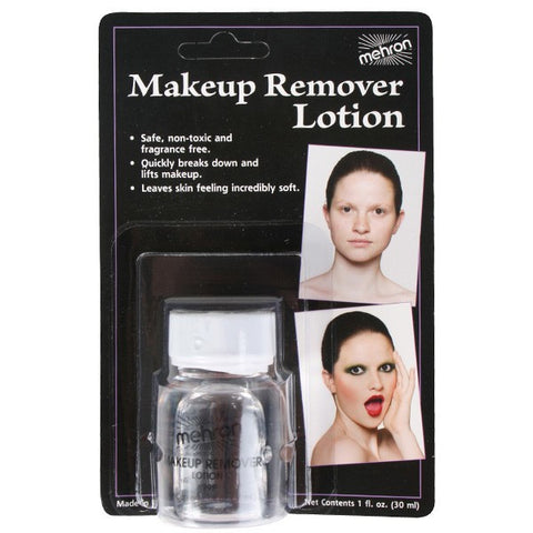 Mehron Make Up Remover Lotion 30ml