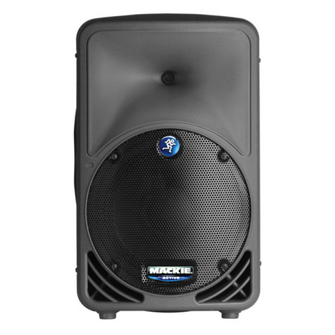 "Mackie SRM350 1000w 10"" Portable Powered Speaker - Macsound Electronics & Theatrical Supplies"