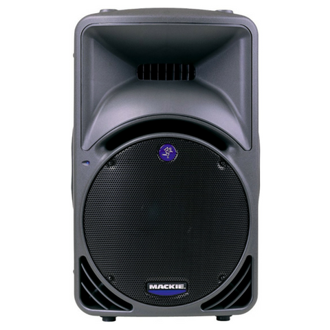"Mackie SRM450 1000w 12"" Portable Powered Speaker - Macsound Electronics & Theatrical Supplies"