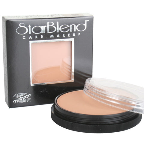 Mehron Starblend Cake Makeup - Dark Olive - Macsound Electronics & Theatrical Supplies