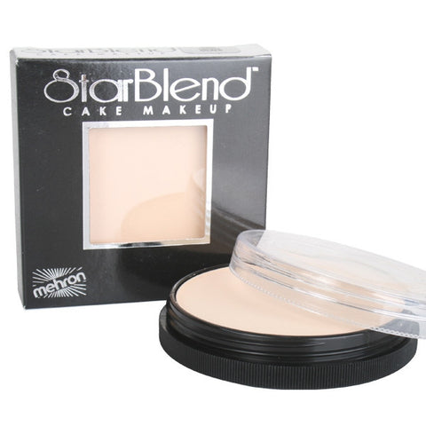 Mehron Starblend Cake Makeup - Light Olive - Macsound Electronics & Theatrical Supplies