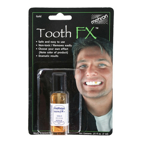 Mehron Gold Tooth FX 7ml - Macsound Electronics & Theatrical Supplies
