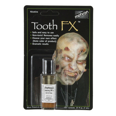Mehron Nicotine Tooth FX 7ml - Macsound Electronics & Theatrical Supplies