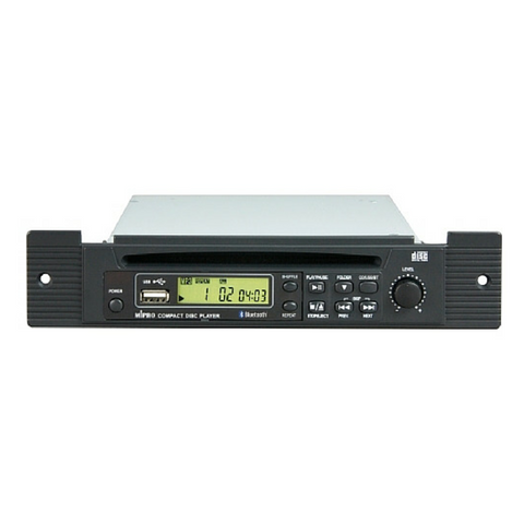 Mipro CDM2BP CD, USB, Bluetooth Player Option for MA707 with Remote Control - Macsound Electronics & Theatrical Supplies
