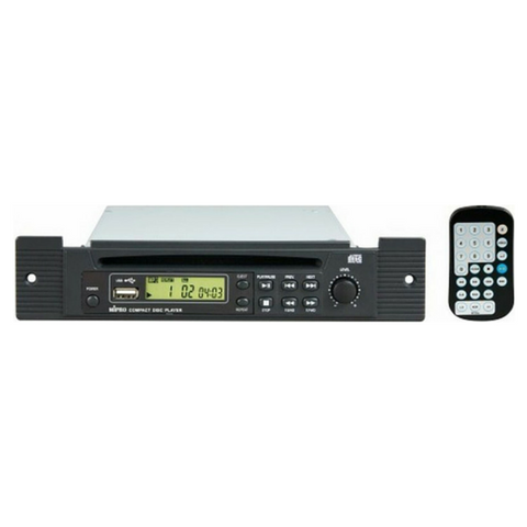 Mipro CDM2P CD, MP3, USB Player Option for MA707 with Remote Control - Macsound Electronics & Theatrical Supplies