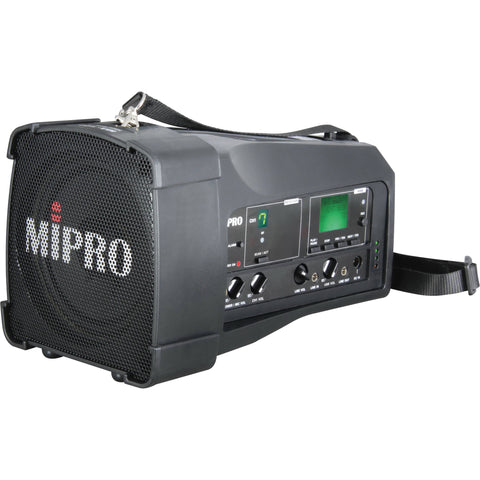 Mipro MA100S Single Channel Diversity Portable PA System - Macsound Electronics & Theatrical Supplies