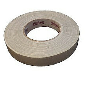 Nashua White Gaffer Tape 25mm x 40m - Macsound Electronics & Theatrical Supplies
