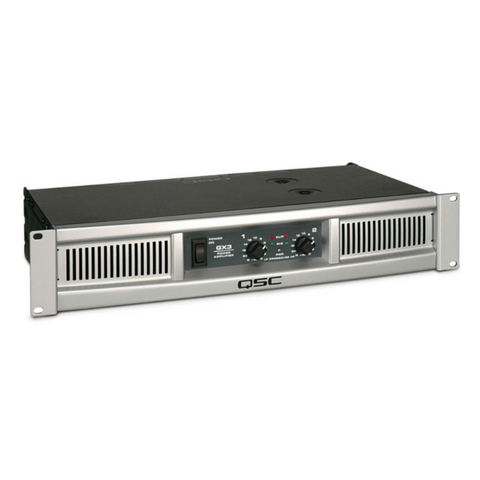 QSC GX3 Power Amplifier - Macsound Electronics & Theatrical Supplies