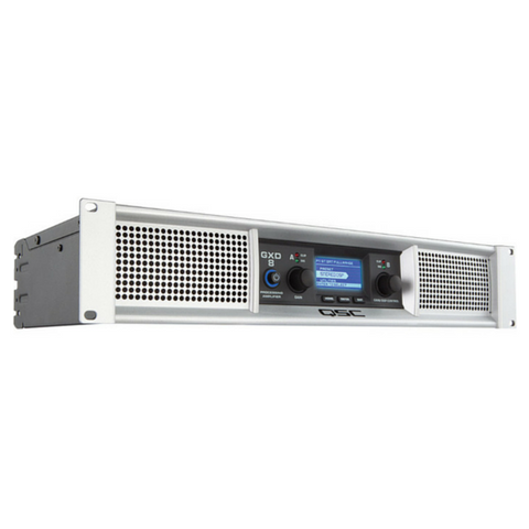 QSC GXD8 Power Amplifier - Macsound Electronics & Theatrical Supplies