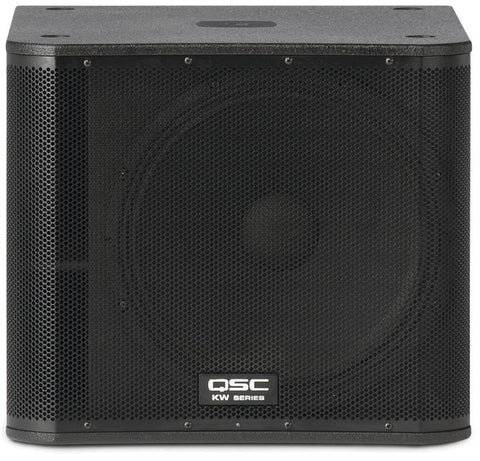 QSC KW181 1000w Powered Subwoofer - Macsound Electronics & Theatrical Supplies