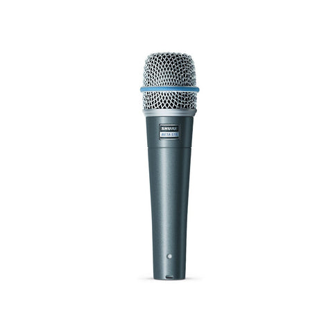 Shure BETA57A SuperCardioid Dynamic Microphone - Macsound Electronics & Theatrical Supplies