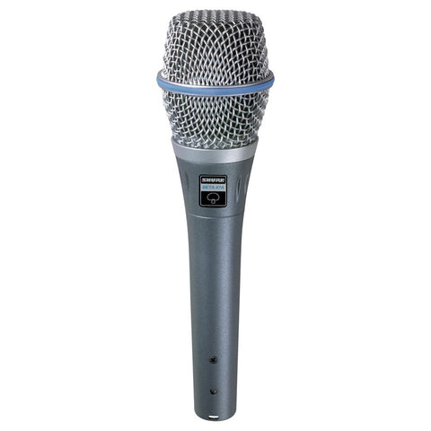 Shure BETA87A SuperCardioid Condenser Microphone - Macsound Electronics & Theatrical Supplies