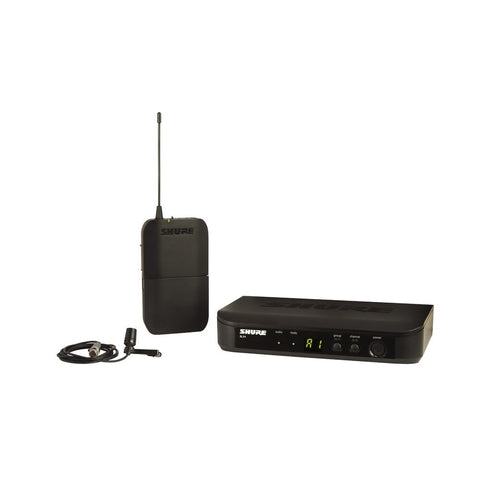 Shure BLX14/CVL Wireless Lapel Microphone System - Macsound Electronics & Theatrical Supplies