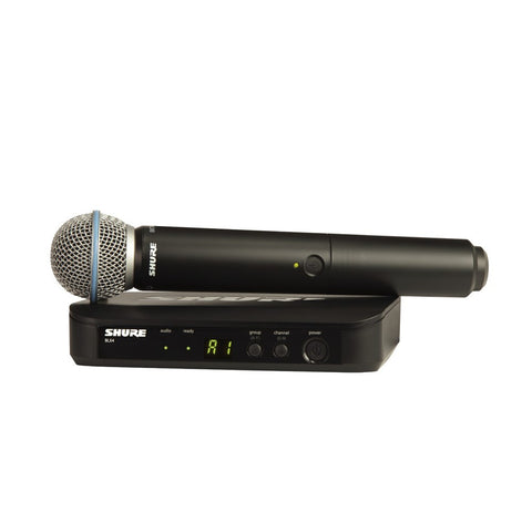 Shure BLX24/B58 Wireless Handheld Microphone System - Macsound Electronics & Theatrical Supplies