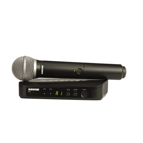 Shure BLX24/P58 Wireless Handheld Microphone System - Macsound Electronics & Theatrical Supplies