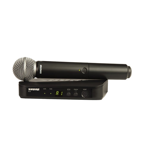 Shure BLX24/S58 Wireless Handheld Microphone System - Macsound Electronics & Theatrical Supplies