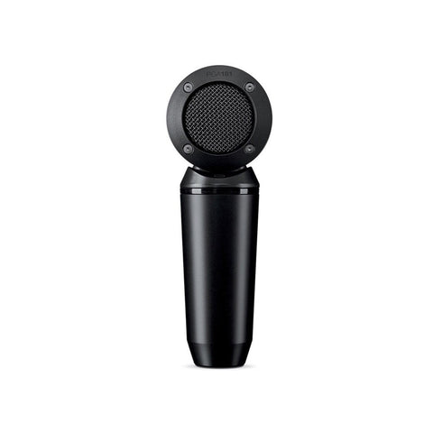 Shure PGA181 Microphone Condenser Lo Z Side Address; Cardioid + XLR-XLR Cable - Macsound Electronics & Theatrical Supplies