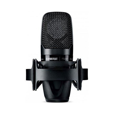 Shure PGA27LC Instrument Cardioid Condenser Microphone - Macsound Electronics & Theatrical Supplies