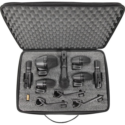 Shure PGADRUMKIT7 PGA 7 piece Drum Microphone Kit - Macsound Electronics & Theatrical Supplies