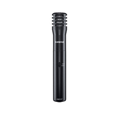 Shure SM137 Cardioid Studio Condenser Microphone - Macsound Electronics & Theatrical Supplies