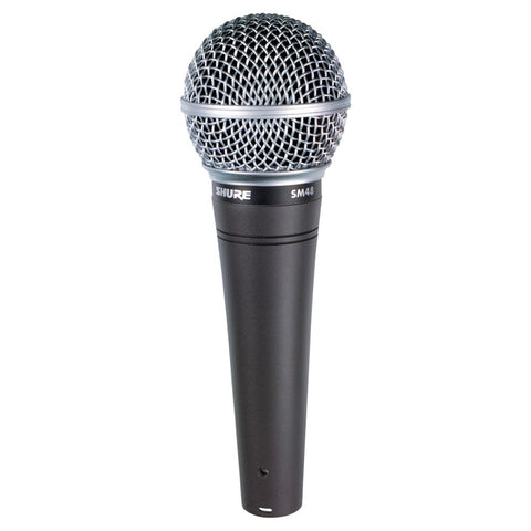 Shure SM48 Vocal Cardioid Dynamic Microphone - Macsound Electronics & Theatrical Supplies
