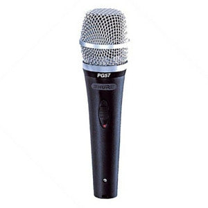 Shure PG57 Instrument Microphone - Macsound Electronics & Theatrical Supplies